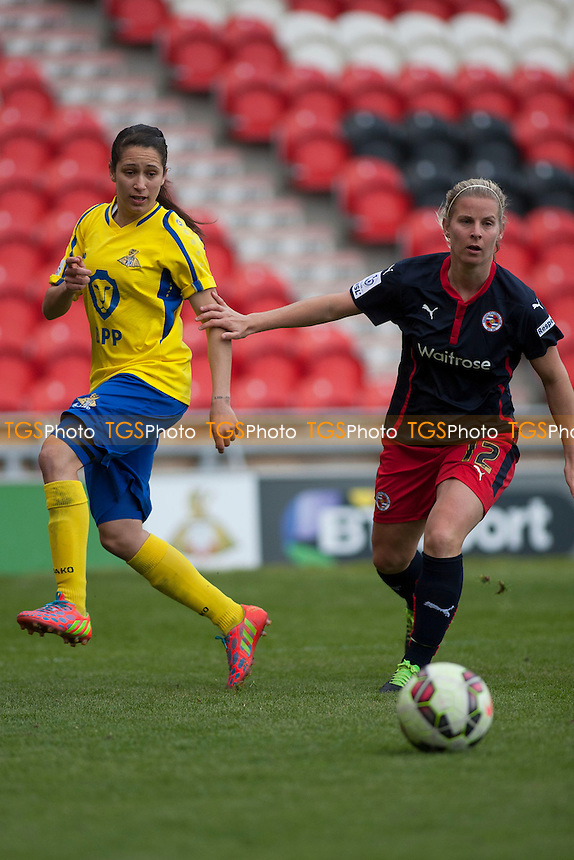 Kylie Davies (Reading FC)<br />  - Doncaster Rovers Belles vs Reading Women - FA Womens Super League 2 Football at the Keepmoat Stadium, Doncaster Rovers FC - 16/05/15 - MANDATORY CREDIT: Mark Hodsman/TGSPHOTO - Self billing applies where appropriate - contact@tgsphoto.co.uk - NO UNPAID USE