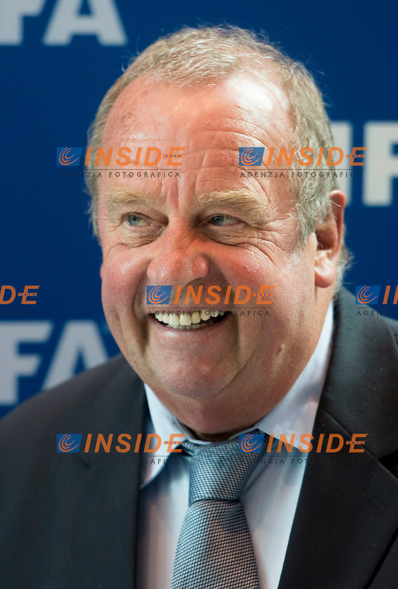 Zurigo 14-10-2016  Football FIFA - Council meeting; FIFA   Council member Michel D'Hooghe (BEL) at the FIFA headquarters  in Zurich<br />  Foto Steffen Schmidt/freshfocus/Insidefoto ITALY ONLY