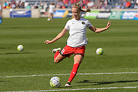 Bridgeview, IL - Sunday June 12, 2016: Dagny Brynjarsdottir during a regular season National Women's Soccer League (NWSL) match between the Chicago Red Stars and the Portland Thorns at FC Toyota Park.