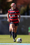 12 November 2016: Liberty's Jennifer Knoebel. The University of North Carolina Tar Heels played the Liberty University Flames at Fetzer Field in Chapel Hill, North Carolina in a 2016 NCAA Division I Women's Soccer Tournament First Round match. UNC won the game 3-0