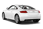 Car pictures of rear three quarter view of 2016 Audi TTS - 2 Door coupe Angular Rear