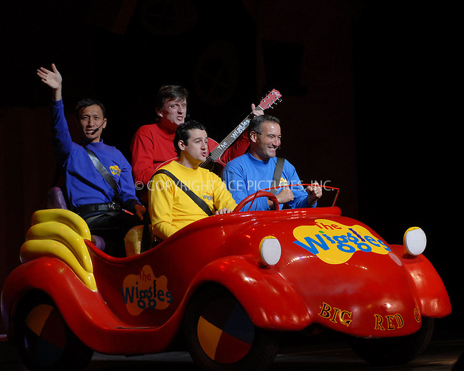 WWW.ACEPIXS.COM . . . . . ....January 20, 2007, New York City. ....The Wiggles children's entertainers Jeff Fatt, Murray Cook, Sam Moran and Anthony Field perform live during the G'Day USA Aussie Family Concert at New York City Center.....Please byline: KRISTIN CALLAHAN - ACEPIXS.COM.. . . . . . ..Ace Pictures, Inc:  ..(212) 243-8787 or (646) 769 0430..e-mail: info@acepixs.com..web: http://www.acepixs.com