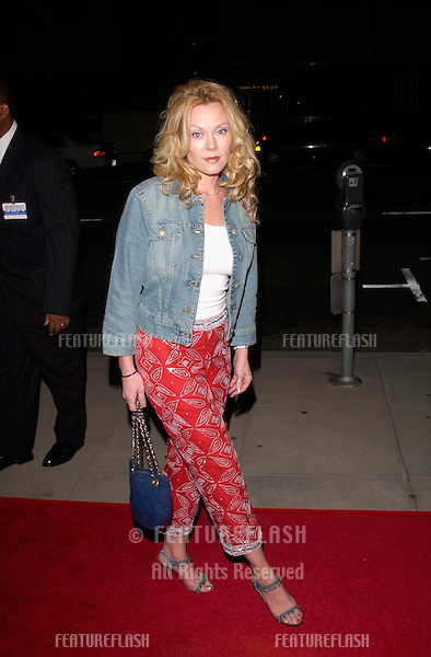 Actress GAIL O'GRADY at the Los Angeles premiere of Men of Honor. .01NOV2000.  © Paul Smith / Featureflash