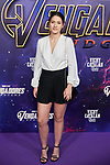 Sabela attends to Avengers Endgame premiere at Capitol cinema in Madrid, Spain. April 23, 2019. (ALTERPHOTOS/A. Perez Meca)