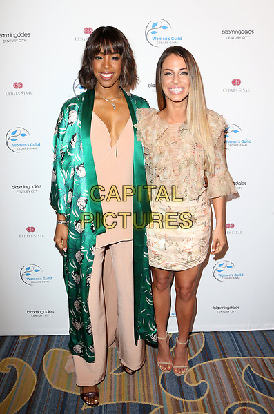 BEVERLY HILLS, CA - April 20: Kelly Rowland, Jessica Lowndes, At 2017 Women's Guild Cedars-Sinai Annual Spring Luncheon At The Beverly Wilshire Four Seasons Hotel In California on April 20, 2017. <br /> CAP/MPI/FS<br /> &copy;FS/MPI/Capital Pictures