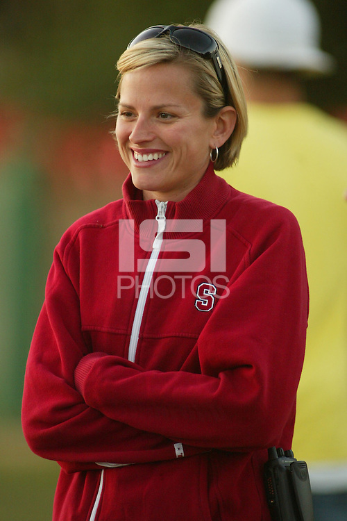 24 September 2005: Ashley Couper during the Stanford Invitational at the Stanford Golf Course in Stanford, CA.