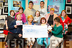 Inspired presents a cheque to Alzheimers Tralee for &euro;410 at their centre on Monday.<br /> Seated l-r, David Malone, Kay McNamara (Alzheimers Rosemary Day Care), Sinead Joy and Carmel Roche.<br /> Back l-r, Breda O&rsquo;Sullivan, Niamh O&rsquo;Connor, Steven Buckley, Denise O&rsquo;Mahoney, Jack Dowey-Kingston, Jennifer O&rsquo;Sullivan and Labhaoise O&rsquo;Connor.