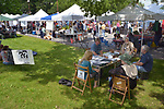 Overview of the scene at the Saugerties Farmer's Market on Main Street in the Village of Saugerties, NY, on Saturday, June 10, 2017. Photo by Jim Peppler. Copyright/Jim Peppler-2017.
