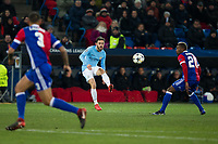 Manchester City's Bernardo Silva in action <br /> <br /> Photographer Craig Mercer/CameraSport<br /> <br /> UEFA Champions League Round of 16 First Leg - Basel v Manchester City - Tuesday 13th February 2018 - St Jakob-Park - Basel<br />  <br /> World Copyright &copy; 2018 CameraSport. All rights reserved. 43 Linden Ave. Countesthorpe. Leicester. England. LE8 5PG - Tel: +44 (0) 116 277 4147 - admin@camerasport.com - www.camerasport.com