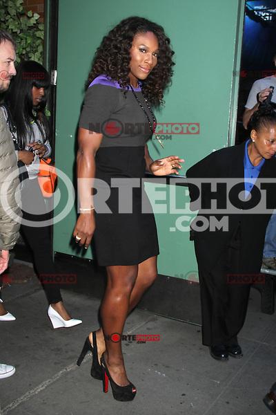 NEW YORK, NY - SEPTEMBER 10: Serena Williams at Good Morning America in New York City. ©RW/MediaPunch Inc. /NortePhoto.com<br /> <br /> **CREDITO*OBLIGATORIO** *No*Venta*A*Terceros*<br /> *No*Sale*So*third*...