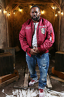 NEW YORK , NY - JANUARY 26: ***EXCLUSIVE*** Raekwon pictured at Fat Joe's Coca Vision Podcast in New York City on January 26, 2018. Credit: Walik Goshorn/MediaPunch