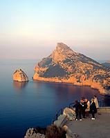 Spanien, Balearen, Mallorca, Cap Formentor: Mirador d'es Colomer | Spain, Balearic Islands, Mallorca, Cape Formentor: Mirador d'es Colomer