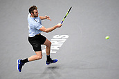5th November 2017, Paris, France. Rolex Masters mens tennis tournament final;  Jack Sock (usa)