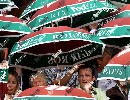 2010-05-26 / Tennis / Roland Garros 2010 / Day 4 / Rain in Paris..Foto: mpics
