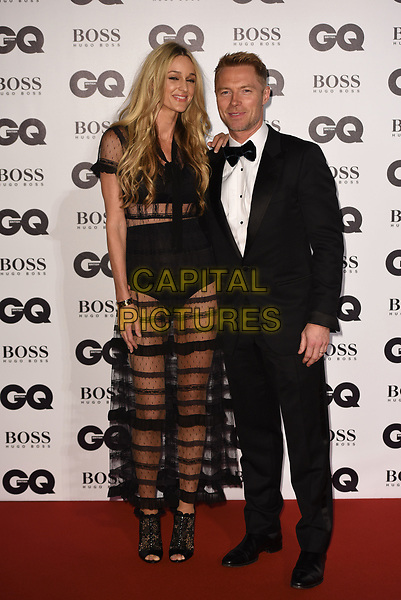 LONDON, ENGLAND - SEPTEMBER 05: Ronan Keating and wife Storm Keating attends the GQ Men Of The Year Awards at Tate Modern on September 5, 2017 in London, England. <br /> CAP/PL<br /> &copy;Phil Loftus/Capital Pictures