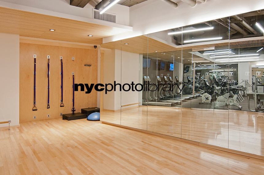 Gym at 45 Wall Street
