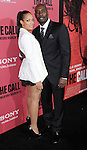 "Morris Chestnut and date at the premiere for ""The Call"" held at Archlight  Theater in Los Angeles, CA. March 5, 2013."