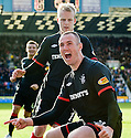 20/11/2010   Copyright  Pic : James Stewart.sct_jsp011_kilmarnock_v_rangers  .:: KENNY MILLER CELEBRATES AFTER HE SCORES HIS SECOND FROM THE SPOT ::.James Stewart Photography 19 Carronlea Drive, Falkirk. FK2 8DN      Vat Reg No. 607 6932 25.Telephone      : +44 (0)1324 570291 .Mobile              : +44 (0)7721 416997.E-mail  :  jim@jspa.co.uk.If you require further information then contact Jim Stewart on any of the numbers above.........