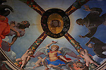 Vault Frescoes Bronzino Chapel of Eleonora Apartment of the Elements Palazzo Vecchio Florence