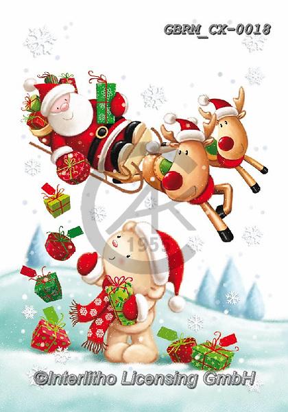 Roger, CHRISTMAS SANTA, SNOWMAN, WEIHNACHTSMÄNNER, SCHNEEMÄNNER, PAPÁ NOEL, MUÑECOS DE NIEVE, paintings+++++,GBRMCX-0018,#x#