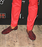 MIAMI, FL - JUNE 16: NBA player Miami Heat (#21 / Center) Hassan Whiteside (shoes detail) attends his 30th Birthday Celebration at Woodside Miami produced be The Neala Group on June 16, 2019 in Miami, Florida. ( Photo by Johnny Louis / jlnphotography.com )
