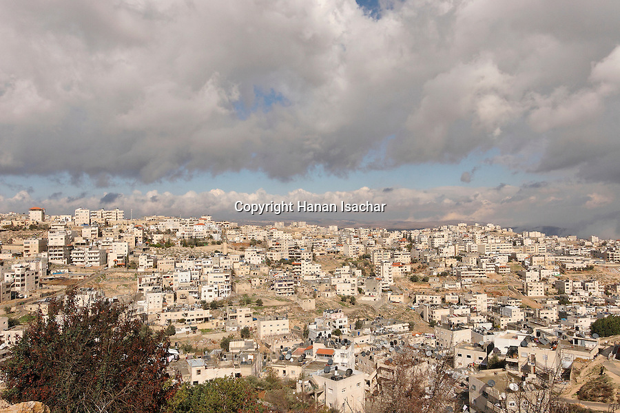 Israel, Jerusalem, The Palestinian neighborhood Issawiya north of Mount Scopus<br />