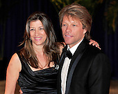 Jon Bon Jovi and his wife, Dorothea, arrive at the Washington Hilton Hotel for the 2010 White House Correspondents Association Annual Dinner in Washington, D.C. on Saturday, May 1, 2010..Credit: Ron Sachs / CNP.(RESTRICTION: NO New York or New Jersey Newspapers or newspapers within a 75 mile radius of New York City)