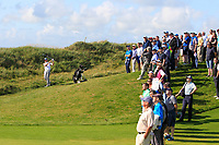 Robert Brazill (Naas) on the 17th during the Final of the AIG Irish Amateur Close Championship 2019 in Ballybunion Golf Club, Ballybunion, Co. Kerry on Wednesday 7th August 2019.<br /> <br /> Picture:  Thos Caffrey / www.golffile.ie<br /> <br /> All photos usage must carry mandatory copyright credit (© Golffile | Thos Caffrey)