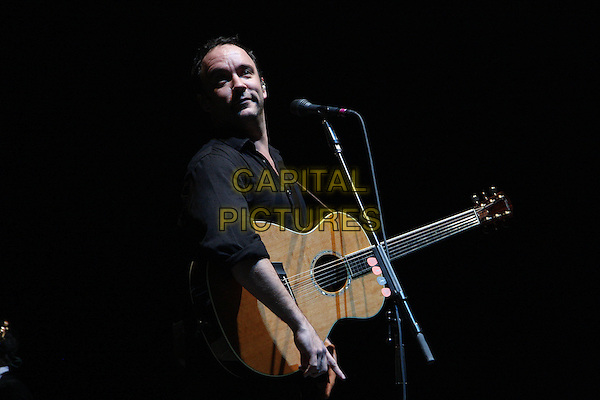 DAVE MATTHEWS BAND.Performing live at the 02 Arena, London, England..March 6th, 2010.stage concert live gig performance music half length black shirt guitar .CAP/MAR.© Martin Harris/Capital Pictures.