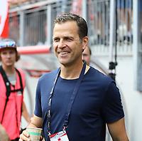 Teammanager der Nationalmannschaft Oliver Bierhoff (Deutschland Germany) - 02.06.2018: Österreich vs. Deutschland, Wörthersee Stadion in Klagenfurt am Wörthersee, Freundschaftsspiel WM-Vorbereitung