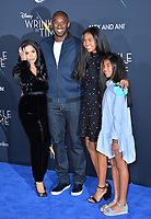 Kobe Bryant, Vanessa Laine Bryant &amp; Children at the premiere for &quot;A Wrinkle in Time&quot; at the El Capitan Theatre, Los Angeles, USA 26 Feb. 2018<br /> Picture: Paul Smith/Featureflash/SilverHub 0208 004 5359 sales@silverhubmedia.com