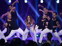 ATLANTA, GA - DECEMBER 8: 2019 MISS UNIVERSE: Ally Brooke performs on the 2019 MISS UNIVERSE competition airing LIVE on Sunday, Dec. 8 (7:00-10:00 PM ET live/PT tape-delayed) on FOX. (Photo by Frank Micelotta/FOX/PictureGroup)