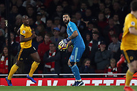 Rui Patricio of Wolves during Arsenal vs Wolverhampton Wanderers, Premier League Football at the Emirates Stadium on 11th November 2018