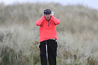 Alex MaGuire (Laytown &amp; Bettystown) on the 11th tee during Round 3 of the Ulster Boys Championship at Portrush Golf Club, Portrush, Co. Antrim on the Valley course on Thursday 1st Nov 2018.<br /> Picture:  Thos Caffrey / www.golffile.ie<br /> <br /> All photo usage must carry mandatory copyright credit (&copy; Golffile | Thos Caffrey)