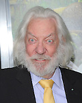 Donald Sutherland at Warner Bros. L.A. Premiere of JOURNEY 2 The Mysterious Island held at The Grauman's Chinese Theatre in Hollywood, California on February 02,2012                                                                               © 2012 Hollywood Press Agency