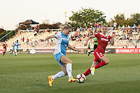 Boyds, MD - Saturday June 03, 2017:  Kealia Ohak, Alyssa Kleiner during a regular season National Women's Soccer League (NWSL) match between the Washington Spirit and the Houston Dash at Maureen Hendricks Field, Maryland SoccerPlex