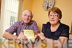 "Jimmy and Peigí O'Neill from Ballyduff pictured with the book of their later daughter, Ciara who passed away recently from a rare form of cancer, her book entitled ""Cancer to Coma"" will be launched this Saturday in Listowel."