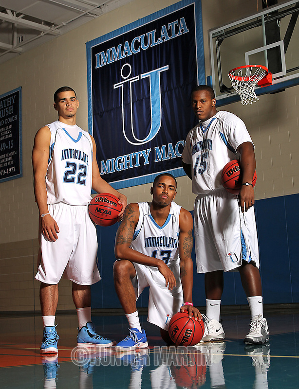 101018 Immaculata University - Sports Posters; Men's Basketball & Men's Tennis