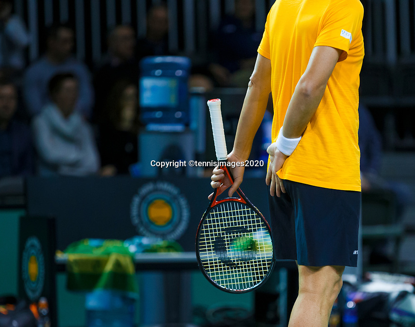 Rotterdam, The Netherlands, 12 Februari 2020, ABNAMRO World Tennis Tournament, Ahoy. Doubles: Oliver Marach (AUT).<br /> Photo: www.tennisimages.com