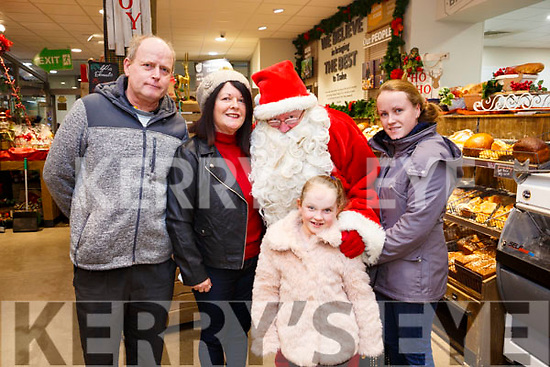Enjoying the Garvey's SuperValu Christmas Food and Wine Fair on Thursday last were James, Berni, Kelly and Rachel Hayes.