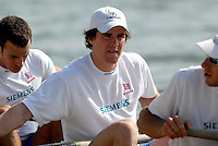 Reading, GREAT BRITAIN, Hugo LEE, GB Rowing 2007 FISA World Cup Team Announcement, at the GB Training centre, Caversham, England on Thur. 26.04.2007  [Photo, Peter Spurrier/Intersport-images]..... , Rowing course: GB Rowing Training Complex, Redgrave Pinsent Lake, Caversham, Reading