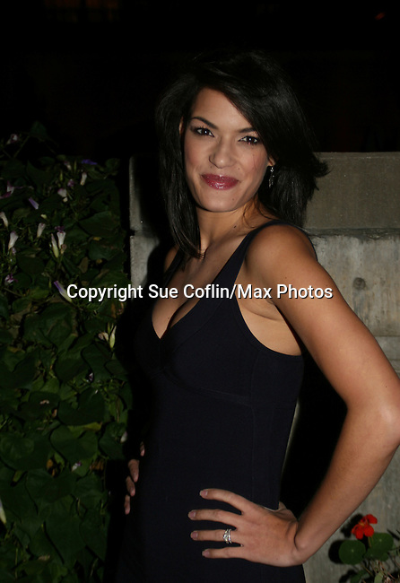 One Life To Live's Jacqueline Hendy at the ABC Daytime Casino Night on October 23, 2008 at Guastavinos, New York CIty, New York. (Photo by Sue Coflin/Max Photos)
