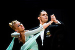 Pasquale Farina and Sofie Koborg of Denmark during the WDSF GrandSlam Standard on the Day 2 of the WDSF GrandSlam Hong Kong 2014 on June 01, 2014 at the Queen Elizabeth Stadium Arena in Hong Kong, China. Photo by AItor Alcalde / Power Sport Images