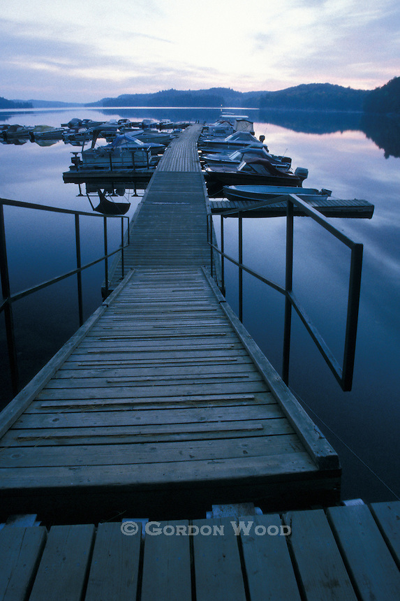 Marina Early Morning - Little Hawk Lake