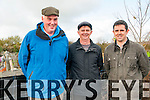 Listowel Coursing: Attending Listowel coursing meeting on Sunday last were Michael Murphy, Batt Maher & T.J. Maher all from Lixnaw.