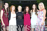 AWARDS: Ladies of the Dynamos who attended the Dynamas Awards Dinner in The Meadowlands Hotel, Tralee on Sunday evening. l-r: Tasha O'Sullivan, Sinead Prendergast, Maeve Burke, Niamh and Siobhan O'Connor and Kat O'Brien