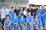 Minister of Health James Reilly got to meet Drs,Nurses and staff of the newly refurbish Endoscopy Unit Kerry General on Monday.