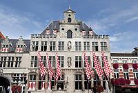 Nederland - Bergen op Zoom -  16 september 2018.  Het Stadhuis op de Grote Markt.   Foto Berlinda van Dam / Hollandse Hoogte
