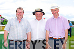 At the Races - Jack O'Sullivan, Finbar Breen, Denis Scanlon at the Castleisland Races on Sunday