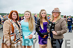 Enjoying  Ladies Day at the Listowel Harvest Racing Festival on Friday were l-r Jacqueline Mannix, Ava Carr, Jade O'Connor and Martina Morgan Carr all from Ballybunion